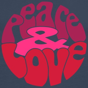 Peace Love_V5 Tee shirts - T-shirt manches longues Premium Homme