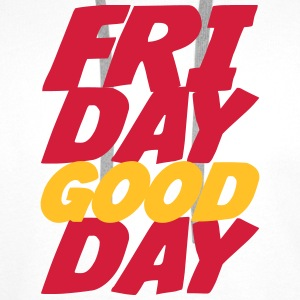 Friday Good Day Camisetas - Sudadera con capucha premium para hombre