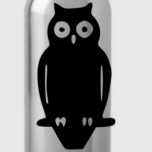 Eule 3 / owl 3 T-Shirts - Trinkflasche