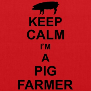 keep_calm_im_a_pig_farmer_g1 T-shirts - Mulepose