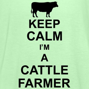 keep_calm_im_a_cattle_farmer_g1 Magliette - Top da donna della marca Bella