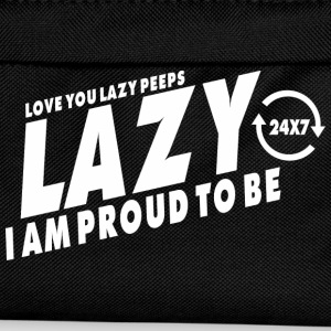 Proud to be lazy (dark) T-Shirts - Kids' Backpack