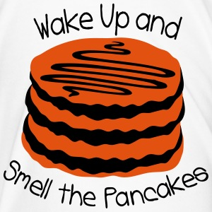 wake up and smell the pancake Contrasting Mug - Men's Premium T-Shirt
