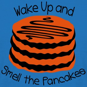 wake up and smell the pancake Cooking Apron - Men's T-Shirt