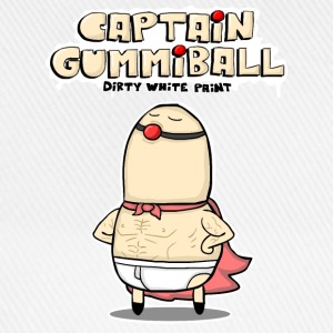 Captain Gummiball - Hoodie - Men - Baseballkappe