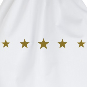 5 Stars, Gold, five, Winner, Champion, Birthday, T - Drawstring Bag