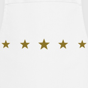 5 Stars, Gold, five, Winner, Champion, Birthday, T - Cooking Apron