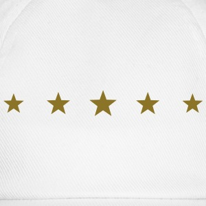 5 Stars, Gold, five, Winner, Champion, Birthday, T - Baseball Cap
