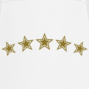 5 Stars, Gold, Best, Sports King, Winner, Champion - Cooking Apron