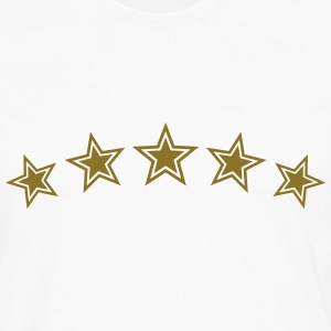 5 Stars, Gold, Best, Sports King, Winner, Champion - T-shirt manches longues Premium Homme