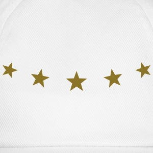 5 Stars, Gold, Best, Winner, Champion, Birthday, T - Baseball Cap