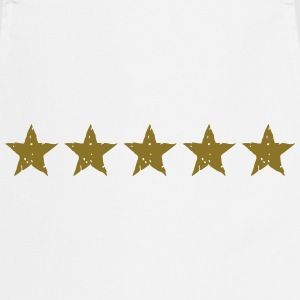 5 Stars, Gold, Best, Winner, Champion, Team, five  - Cooking Apron