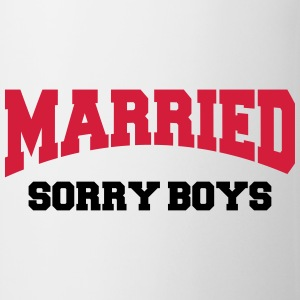 Married - Sorry boys! T-shirts - Mok