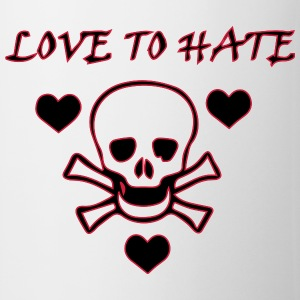 Love to Hate T-shirts - Mugg