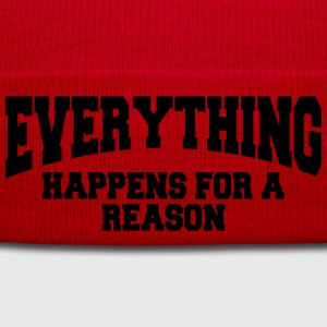 Everything happens for a reason T-Shirts - Winter Hat