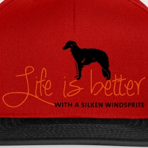 Life is better with a Silken T-Shirts - Snapback Cap