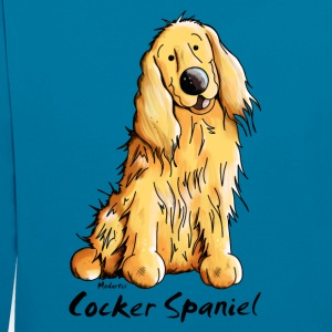 Drôle Cocker Spaniel Tee shirts - Sweat-shirt contraste