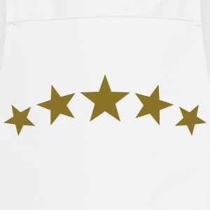 5 Stars, Gold, Win, Winner, Champion, Record, Team - Cooking Apron