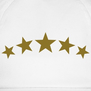 5 Stars, Gold, Win, Winner, Champion, Record, Team - Baseball Cap