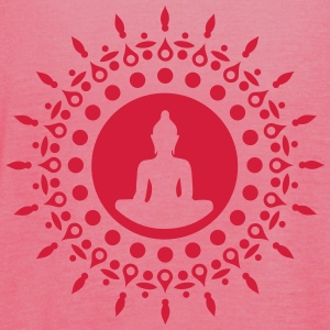 Buddha meditation, yoga, Buddhism, enlightenment T-shirts - Tanktopp dam från Bella