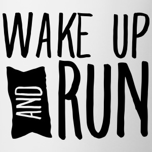 Wake Up And Run Tank topy - Kubek