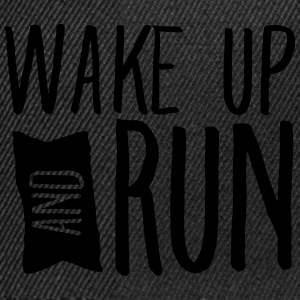 Wake Up And Run Débardeurs - Casquette snapback