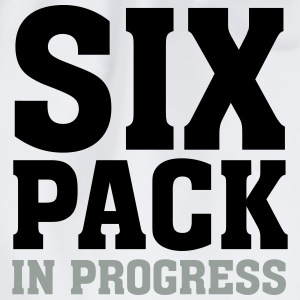 Six Pack In Progress T-shirts - Gymnastikpåse