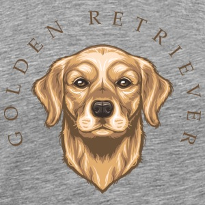 Golden Retriever Tank Tops - Männer Premium T-Shirt