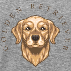 Golden Retriever Tops - Männer Premium T-Shirt