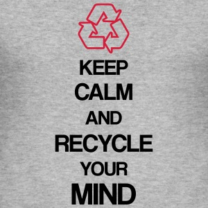 Recycle Mind Pullover & Hoodies - Männer Slim Fit T-Shirt
