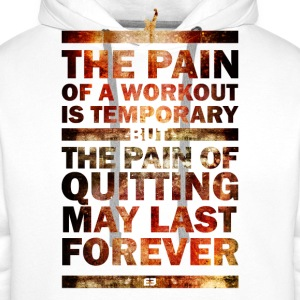 The Pain of Quitting  V1 - Männer Premium Hoodie