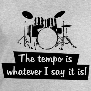 the tempo is whatever i say it is! - Männer Sweatshirt von Stanley & Stella