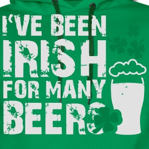 I've been irish for many beers T-Shirts - Männer Premium Hoodie