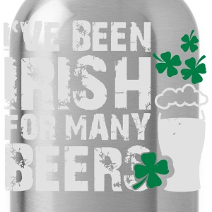 I've been irish for many beers T-Shirts - Trinkflasche