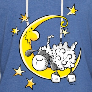 Sheep in the Moon Shirts - Light Unisex Sweatshirt Hoodie
