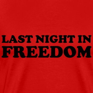 Last night in freedom Skjorter med lange armer - Premium T-skjorte for menn