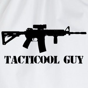 tacticool guy ar15 T-shirts - Gymtas