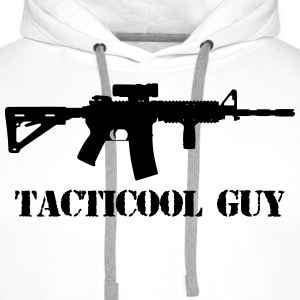 tacticool guy ar15 T-shirts - Mannen Premium hoodie