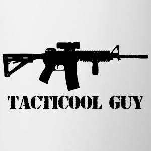 tacticool guy ar15 Camisetas - Taza