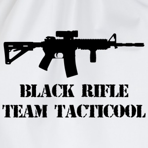 black rifle tacticool Camisetas - Mochila saco