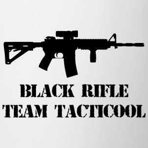 black rifle tacticool Camisetas - Taza