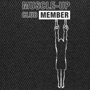 White muscle-up club T-Shirts - Snapback Cap