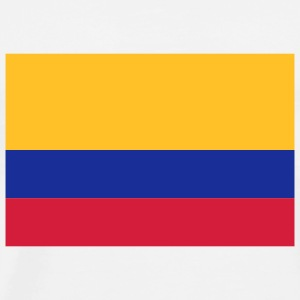National Flag Colombia Toppe - Herre premium T-shirt