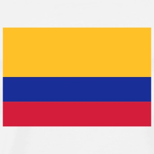 National Flag of Colombia Hoodies & Sweatshirts - Men's Premium T-Shirt