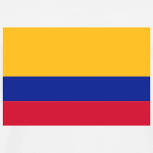 National Flag Colombia Andet - Herre premium T-shirt