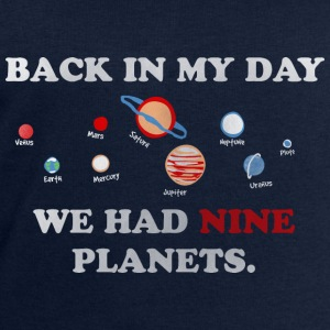 IN my day, we had 9 planets Tops - Men's Sweatshirt by Stanley & Stella