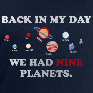 IN my day, we had 9 planets Long Sleeve Shirts - Men's Sweatshirt by Stanley & Stella
