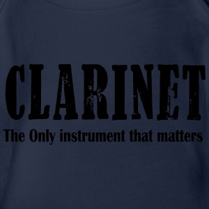 Clarinet, The ONLY instrument that matters T-Shirts - Baby Bio-Kurzarm-Body