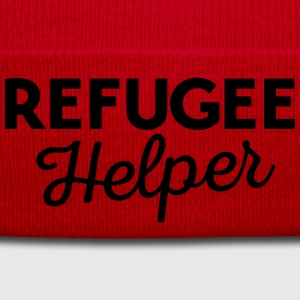 Refugee helper T-Shirts - Winter Hat