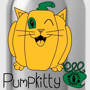 Pumpkitty T-Shirts - Water Bottle